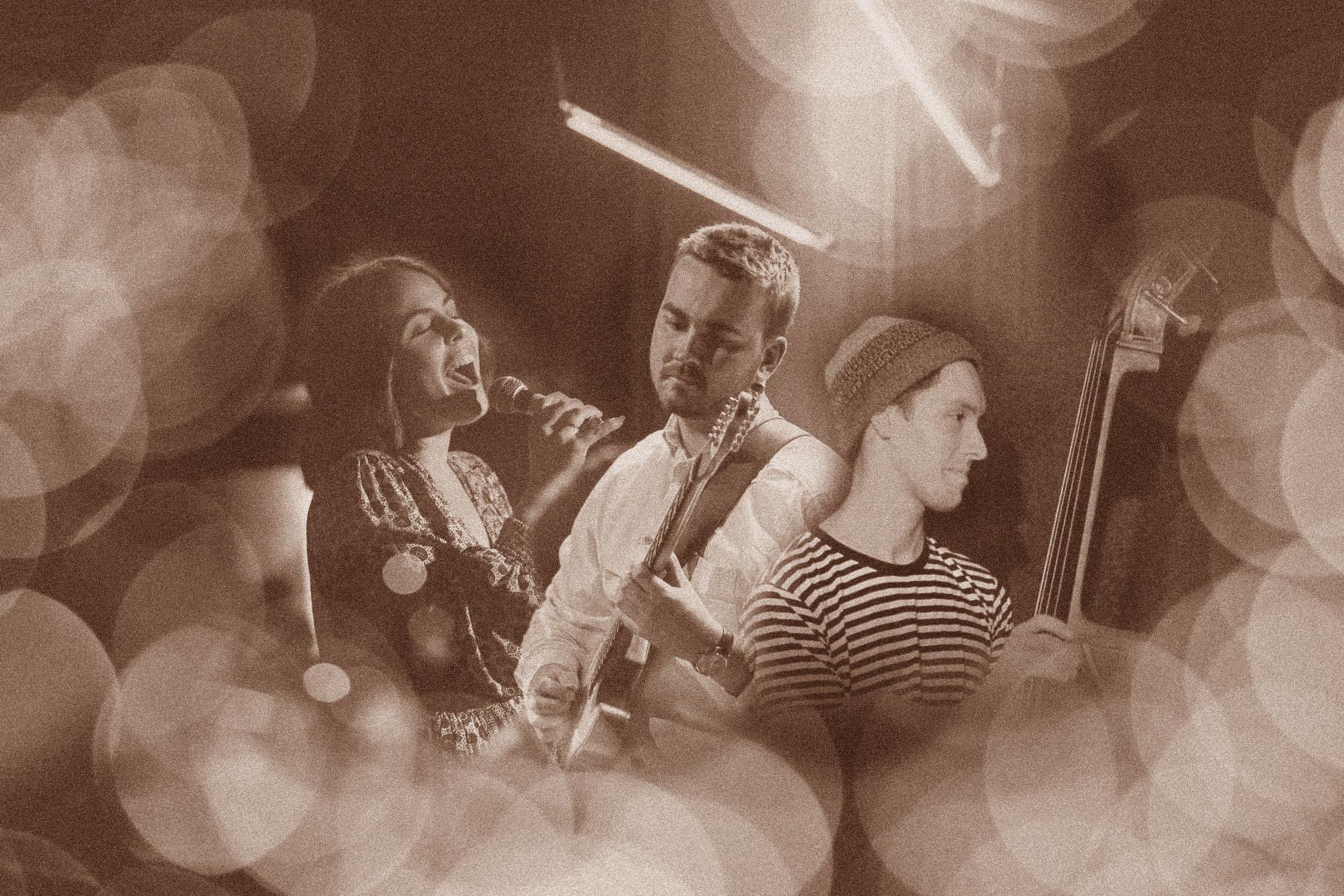 Lucy Iffla, Matthew Gudgeon and Alistair Peel